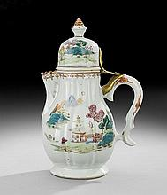 Chinese Export Porcelain Coffeepot