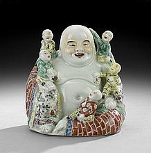 Chinese Export Porcelain Buddha