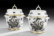 Pair of Royal Worcester Fruit Coolers