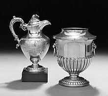 Two Pieces of English Silverplate