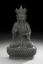 Chinese Bronze Avalokitesvara (Guanyin)