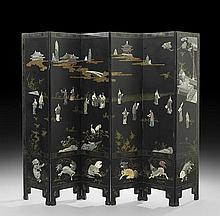 Chinese Six-Panel Screen