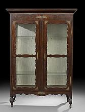 Lower Mississippi Valley Creole Mahogany Vitrine