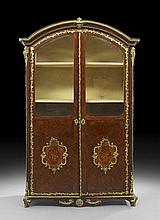 Napoleon III Gilt-Bronze-Mounted Kingwood Vitrine