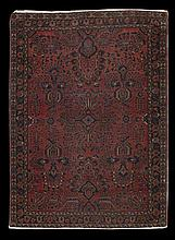 Semi-Antique Sarouk Carpet