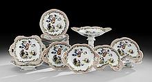 32-Piece English Ironstone Dessert Service