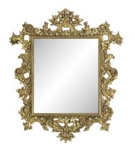 Pair of Giltwood Mirrors in the Baroque Style