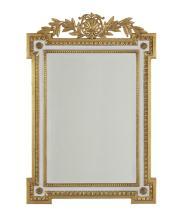 George II-Style Parcel-Gilt Mirror