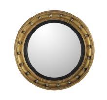 William IV Giltwood Convex Mirror