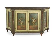 Continental Polychrome Cabinet