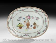 Chinese Export Famille Rose Platter