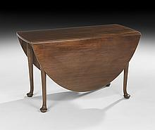 George III Mahogany Drop-Leaf Table