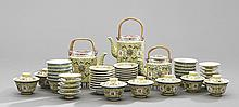 Fifty-Seven-Piece Chinese Tea Service