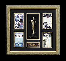 Framed Collection of Jack Nicholson Memorabilia