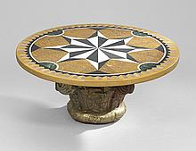 Neoclassical-Style Cocktail Table