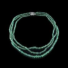 Lady's Emerald Necklace