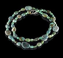 Opera-Length Turquoise Necklace