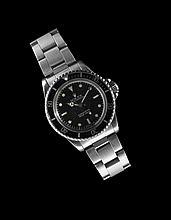 Stainless Steel Rolex Submarine Wristwatch