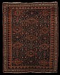 Antique Persian Afshar Carpet