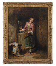 Attributed to Thomas Faed (Scottish, 1826-1900)