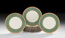 Set of Fourteen Royal Worcester Service Plates