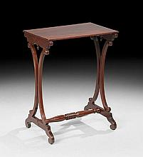 American Classical Mahogany Occasional Table