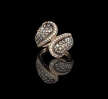 Le Vian 14 Kt. Rose Gold and Diamond Ring