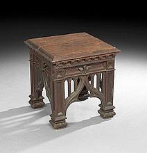 English Oak End Table