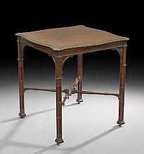 Edwardian Mahogany Tea Table