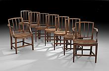 Eight George III-Style Dining Chairs