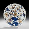 Chinese Imari Kangxi Porcelain Dinner Plate