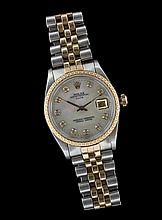 Men's 18 Kt. and Stainless Rolex Wrist Watchl