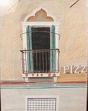 Glynn Boyd Harte (1948-2003) British. A Balcony Sc