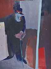 Boyd (20th Century) British.  A Standing Figure wi