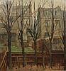 "Mary Remington (1910- ) British. ""London Garden"","