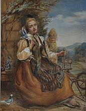 Anna Massey Lea Merritt (1844-1930) American. A