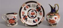 A ROYAL CROWN DERBY SMALL IMARI EWER, date code 18
