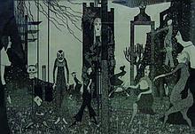 John Jack Vrieslander (1879-1957) German. A Surrea