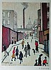 Lawrence Stephen Lowry (1887-1976) British. A Stre, L.S. Lowry, £0