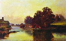 William Gilbert Foster (1855-1906) British. A Rive