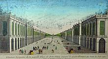 18th Century French School. 'Place de Petersbourg'