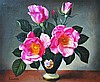 James Noble (1919-1989) British. 'Pink Roses in Po, James (1919) Noble, £0