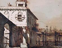 19th Century Italian School. An Italian Fortificat