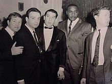 Early 20th Century British. Ronnie Kray with the W
