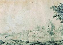 Dirck Van Burg Den (1723-1773) Dutch. A Dutch Rive