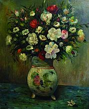 C... Feamon (20th Century). Still Life with Flowers