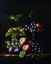 Jack Z... (20th Century).  Still Life with Grapes, P