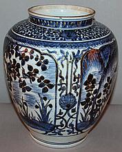 A GOOD LATE 17TH CENTURY JAPANESE EDO PERIOD BLUE
