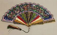 A GOOD QUALITY 19TH CENTURY CHINESE CANTON HARLEQU