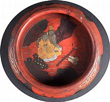 A RARE 17TH/18TH CENTURY CHINESE RED LACQUER